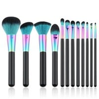 Professional Makeup Brushes Set (12pcs)