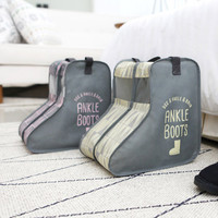UIT Pastel scandic ankle boots storage bag dust-proof cover