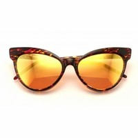 Wildfox Sunwear Grand Dame Deluxe Sunglasses in Montage