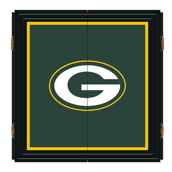 Green Bay Packers NFL Extreme Dart Cabinet Set
