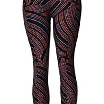 VIV Collection Best Selling Printed Brushed Leggings Regular Size (XS - L) Listing 2