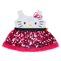 Hello Kitty Pink Sequin Dress