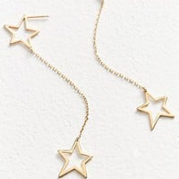 Jennifer Zeuner Jewelry X UO Star Drop Earrings | Urban Outfitters