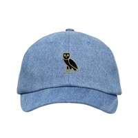 GOLD OWL DENIM SPORTCAP <p>STRAPBACK SPORTCAP</p> | October's Very Own