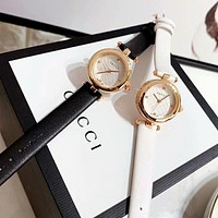 GUCCI Stylish Women Men Delicate Quartz Watches Couple Wrist Watch
