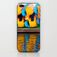 Paddle Boats iPhone & iPod Skin by Upperleft Studios