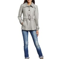 Green with Envy Women's Belted Jacket