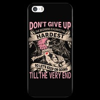 Fairy Tail - DON'T GIVE UP Natsu Dragneel - Iphone Phone Case - TL01128PC