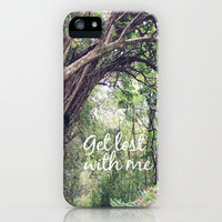 GET LOST in the ENCHANTED FOREST  iPhone Case by Tara Yarte