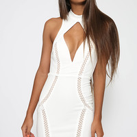 Nigglier Dress - White