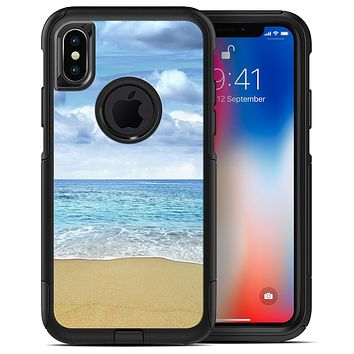 Calm Blue Sky and Sea Shore - iPhone X OtterBox Case & Skin Kits