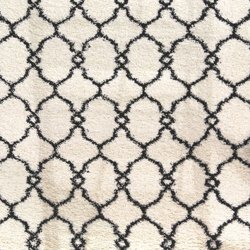 Dynamic Rugs Passion Ivory Geometric Rectangle Area Rug