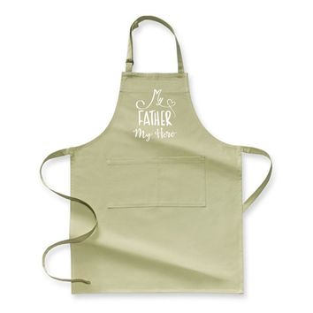 My Father My Hero, Father's Day Apron