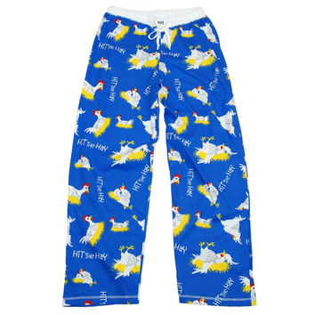 Chickens Hit the Hay Women's Pajama Pants