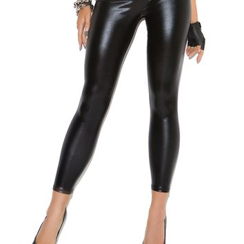 """Wet Look"" Liquid Leggings"