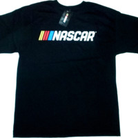 NASCAR New Logo Black Tee -