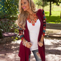 Long Sleeve Women Cardigan