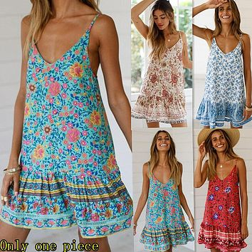 New Holiday Printed Dresses, Leisure Skirts, Short Skirts and Women's Dresses
