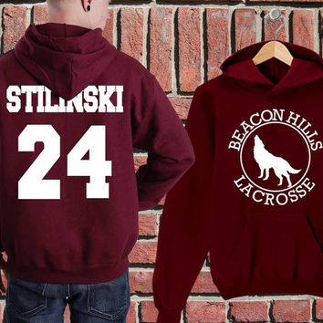 5 secound of summer lahey 11,mahealani 06,mccall 11,Teen Wolf Stilinski 24,whittemore 37 on hoodies