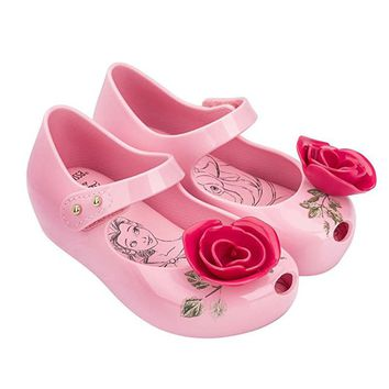 Beauty and The Beast Shoes 3D Flowers