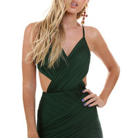 STAIRWAY TO HEAVEN EMERALD DRESS