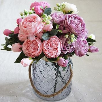 Firlar Artificial Silk Flowers, Artificial Roses for any occasion.