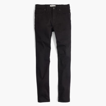 "9"" High-Rise Skinny Jeans in ISKO Stay Black™ : shopmadewell high-rise skinny jeans 