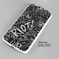 Paramore Riot Quote Samsung Galaxy S3 S4 S5 Note 3 Cases - Galaxy