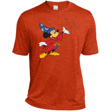 Merry Christmas and Happy New Year Mickey Mouse 2  ST360 Sport-Tek Heather Dri-Fit Moisture-Wicking T-Shirt