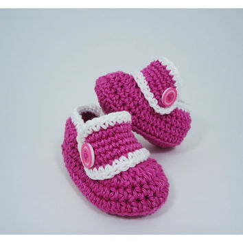 """Crochet Baby shoes, Baby shoes, Custom baby shoes, fashion baby shoes, baby accessories - For her - Up to 12 cm (4.7"""")"""