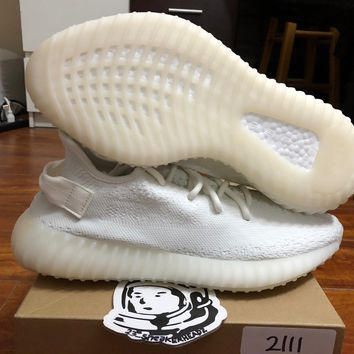 Come With Box Adidas yeezy boost 350 V2 Cream White sz 9.5 CP9366 w/receipt 100% authentic