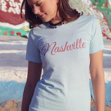 Nashville Vintage Style Tee by Original Cowgirl Clothing