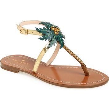 kate spade new york 'solana' palm tree sandal (Women) | Nordstrom