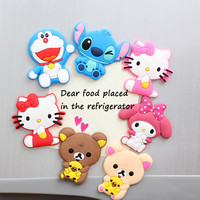 Kawaii Cartoon Animal Custom Fridge Magnets For Baby Personalised Photo Magnets For Save The Date Magnets