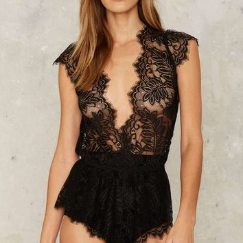 Delilah Lace Teddy