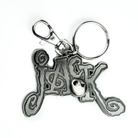 """Jack"" Keychain Skellington Nightmare Before Christmas Keyring"