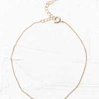 Arrow Anklet in Gold - Urban Outfitters