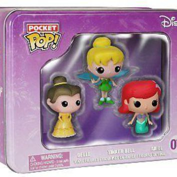 Funko Pocket Pop: Princess Vinyl Figure 3-Pack