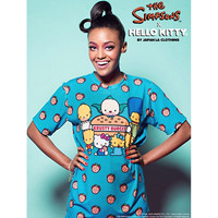The Simpsons x Hello Kitty Krusty Burger Unisex Top