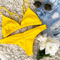 Beach Hot Summer Swimsuit New Arrival Swimwear Sexy Bikini [11592744015]