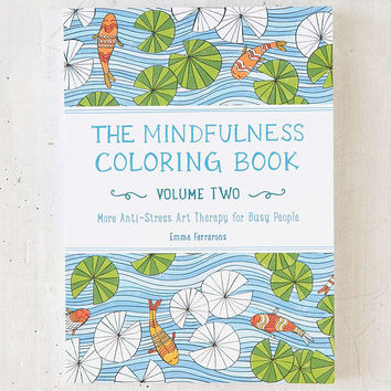 The Mindfulness Coloring Book Vol 2 From Urban Outfitters