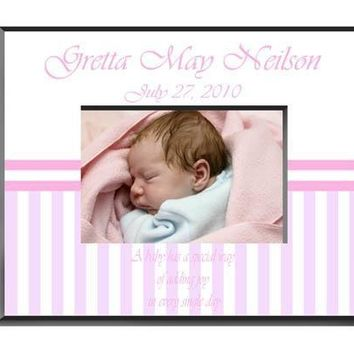 Personalized  Children's Frames - Baby Girl