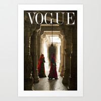 VOGUE INDIA Art Print by ArpanDholi-Desinence Designs