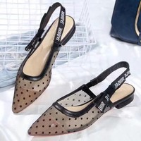 Dior Women Fashion Simple Casual Flats Shoes