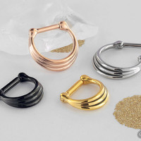 Three Band Septum Clicker