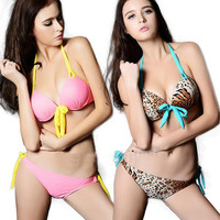 Victoria Secret Look Leopard Design Bikini Set