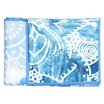 Breathe Printed Yoga Towel ©