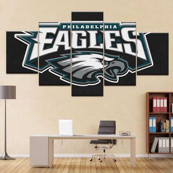 Philadelphia Eagles Posters Canvas Oil Painting Wall Art Modern Prints Home Decoration Pictures For Living Room Framed Artwork