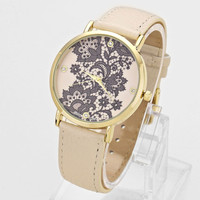 Adorn by LuLu - Leather and Lace Watch