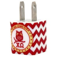 Chi Omega Owl Phone Charger